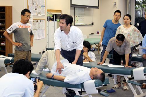 活法 in 大川カイロプラクティック専門学院