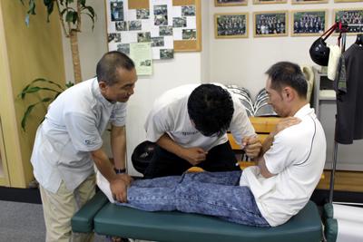活法 in 大川カイロプラクティック学院