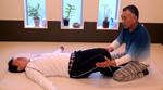 腰椎回旋の導引