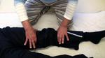 下腿の外旋調整