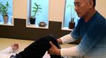 膝関節( 脛骨 )の牽引